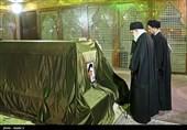الإمام الخامنئی یزور مرقد الإمام الخمینی الراحل (رض) والشهداء + صور