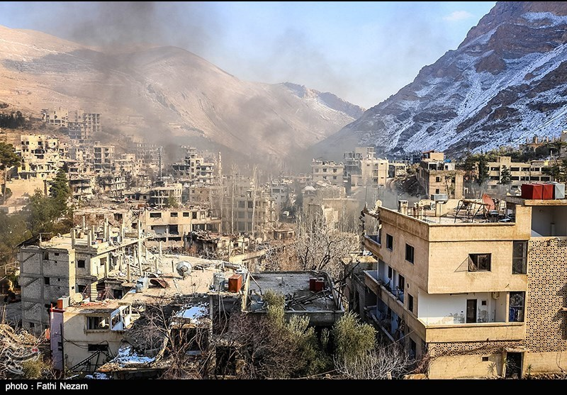 عین الفیجة بعد التحریر - دمشق