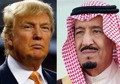 گفتوگوی تلفنی ترامپ و ملک سلمان درباره بحران قطر