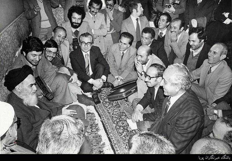 دیدارهای امام خمینی(ره) در مدرسه علوی