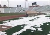 بارش فعلی برف مانع برگزاری بازی ماشینسازی و استقلال نمیشود