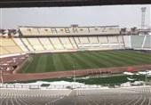 هواداران ماشینسازی به استادیوم نیامدند، استقلالیها دورقمی شدند/ وضعیت نامناسب چمن ورزشگاه یادگار امام + عکس