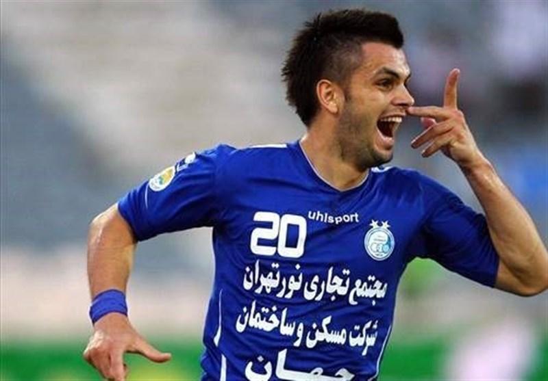 Former Esteghlal Striker Jerkovic Joins Iran's Siahjamegan