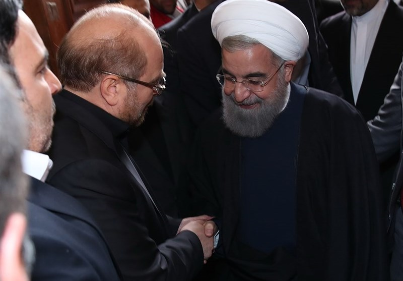Iran's President Congratulates Qalibaf on Election as Parliament Speaker