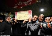 آخرین وداع با پیکر فرمانده شهید مدافع حرم، رضا ایزدیار + فیلم و عکس