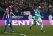 بارسلونا با برتری در مادرید نیمی از راه صعود را پیمود