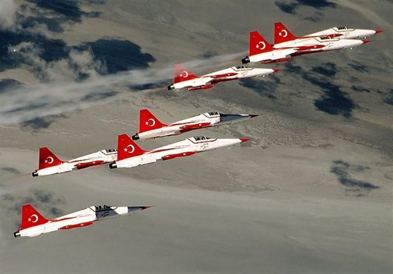 ترک جنگی جہازوں کی داعش پر زبردست بمباری، 28 دہشتگرد مارے گئے