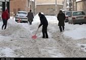 دمای اردبیل به منفی 10 درجه رسید/ بارش 35 سانتیمتری برف در نیر