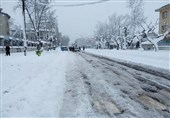 برف رشت