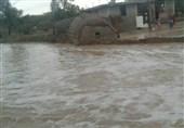 مناطق کوهستانی داراب در محاصره سیل/ برخی روستاها مواد غذایی ندارند