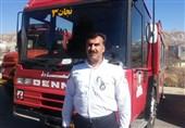 جمعه بازار یاسوج هیچ راه دسترسی برای مهار آتش سوزی ندارد