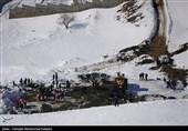 ریزش سنگ و سقوط بهمن در محورهای کوهستانی مازندران دور از انتظار نیست