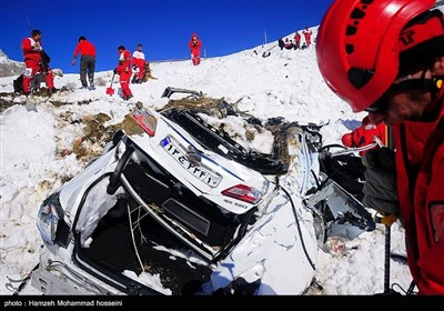 Rescue Operations Launched after Deadly Snow Avalanche Hits Northern Iran