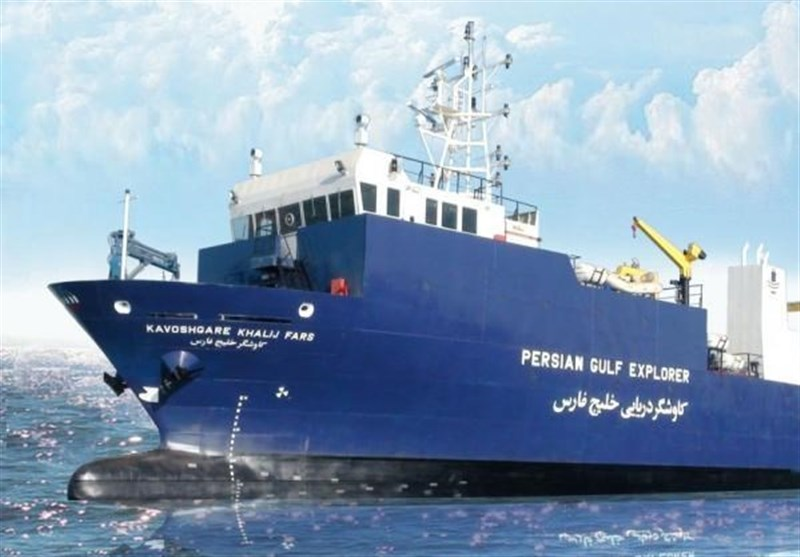 Iran Launches First Homegrown Oceangoing Research Vessel