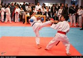 مسابقات کاراته قهرمانی تهران