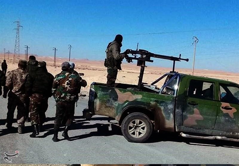 الجیش السوری یتقدم شرق حمص وتعزیزات ضخمة إلى مطار السین بریف دمشق+صور