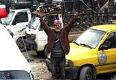 Şam Halkı Suriye Ordusuna Ait Birlikleri Alkışlarla Karşıladı