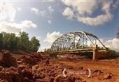 فیلم/لحظه انفجار پل با 600 پوند مواد منفجره