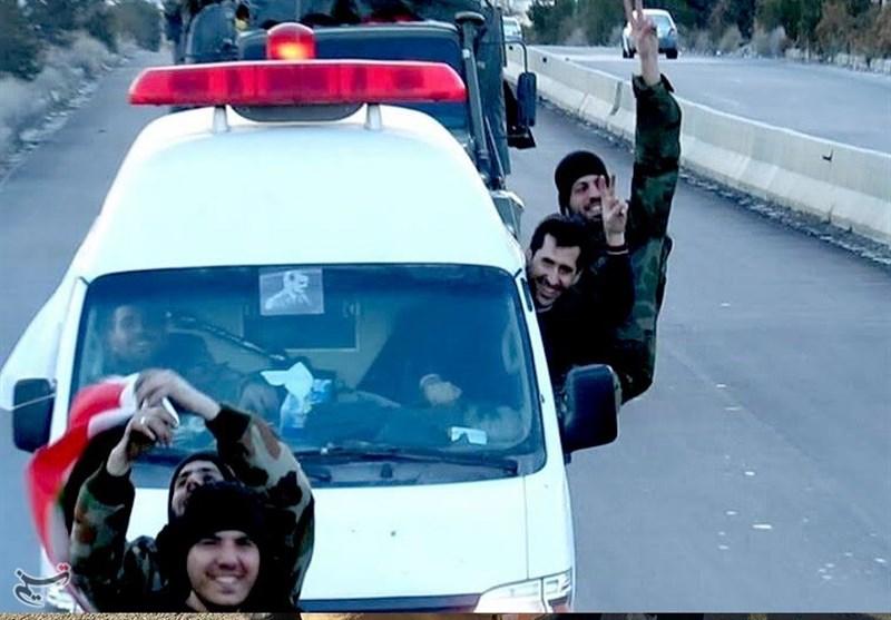 سوریه/ استقبال از ارتش/9