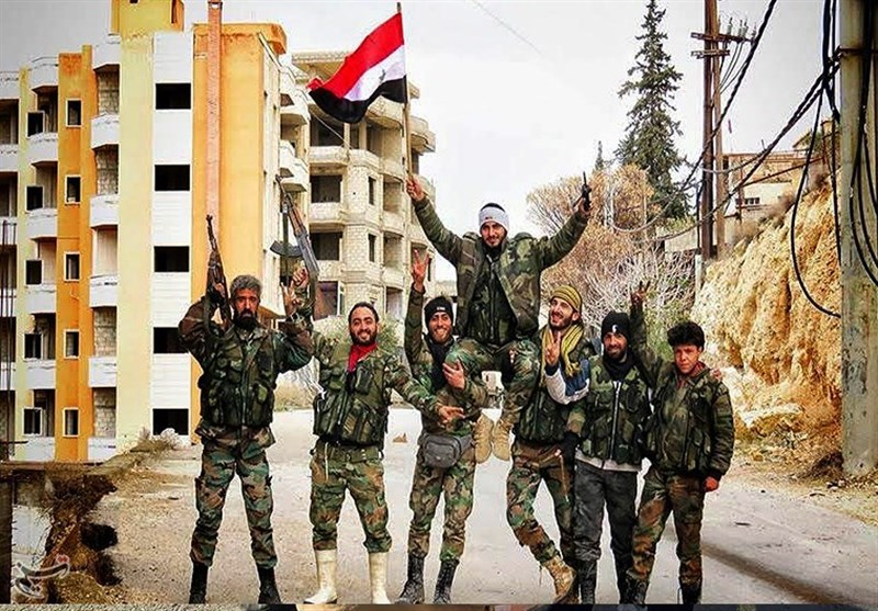 سوریه/ استقبال از ارتش/12