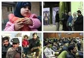 عکس/مراسم تجلیل از جهادگران و خانواده شهید جهادگر مدافع حرم