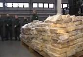 کشف بزرگترین محموله قاچاق کوکائین در آلمان + فیلم