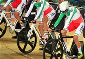 Asian Track Cycling Championships: Iran Elite Team Sprint Wins Silver