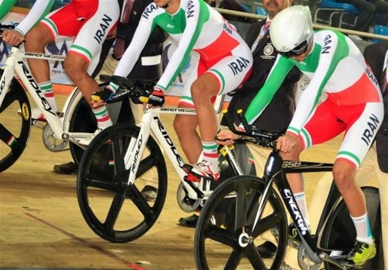 Iran's Team Time Trial Wins Silver at Asian Cycling Championship