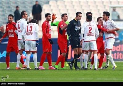 ایرانی فٹبال ٹیموں کے درمیان سنسنی خیز مقابلے کی تصویری جھلکیاں