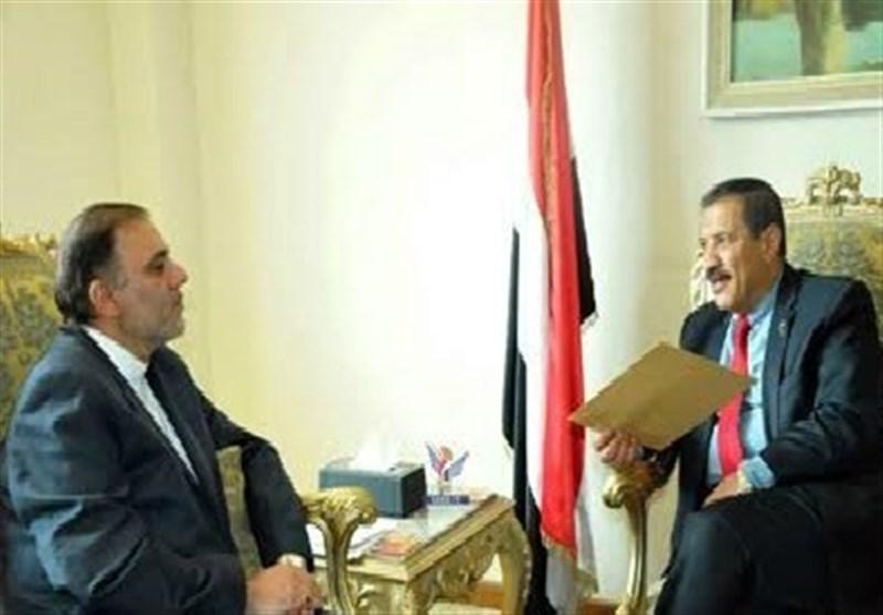 وزیر الخارجیة الیمنی یبعث رسالة لنظیره الإیرانی