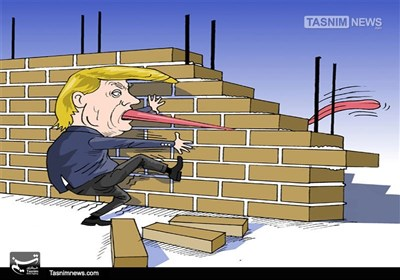 کاریکاتور/ دردسرهای ترامپ!!!