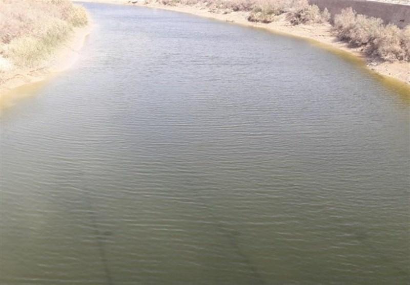 تغییر رنگ رودخانه هندیجان7