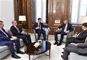 الأسد لوفد برلمانی بلجیکی: معظم الدول الأوروبیة دعمت الارهابیین