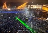 تظاهرات مردم رومانی در اعتراض به طرح جنجالی دولت