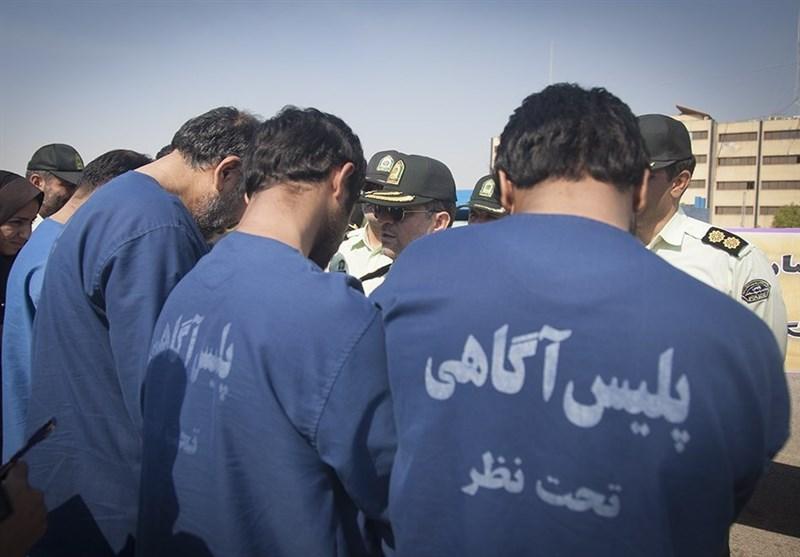 21 سارق حرفهای در دهلران دستگیر شدند