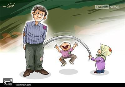 کاریکاتور/ اشکها و لبخندها !!!