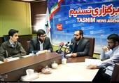 نشستخبری شورای تبیین مواضع بسیج دانشجویی تهران در خبرگزاری تسنیم برگزار شد