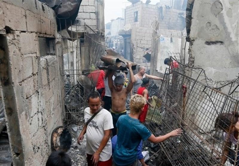 آتشسوزی فیلیپین