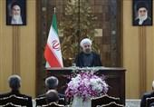 روحانی: لاننوی التدخل فی شؤون أی بلد.. السلاح الإیرانی، هو للدفاع عن البلاد