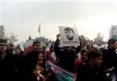 مسیرات بذکرى انتصار الثورة فی طهران+صور