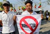 Radikal Budistlerden Soykırımcı Askerlere Destek Yürüyüşü