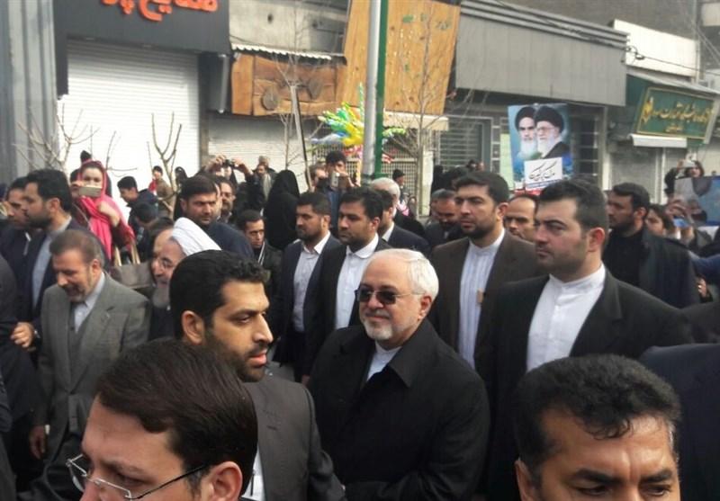 ظریف: مشارکة الشعب تجهض التهدیدات