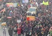راهپیمایی 22 بهمن در خراسان شمالی سرزمین گنجینه فرهنگها آغاز شد