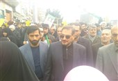 حضور شمخانی در راهپیمایی 22 بهمن