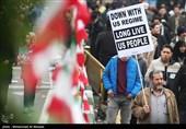 المنار: تظاهراتکنندگان از تهدیدات آمریکا هراسی ندارند
