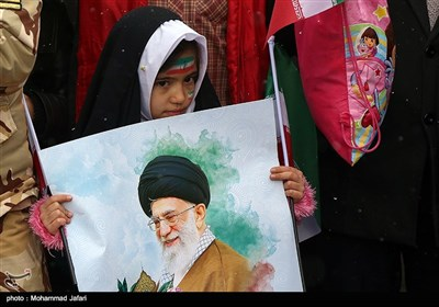 راهپیمایی 22 بهمن در زنجان