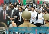 بازسازی نمادین صحنه دستگیری شهید هاشمینژاد در مشهدمقدس+ عکس