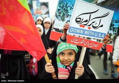 راهپیمایی 22 بهمن در تهران - 8