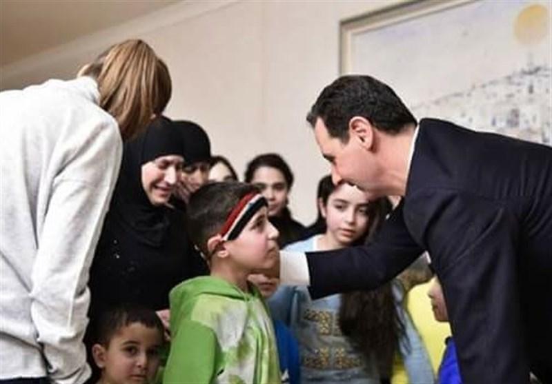 الرئیس الأسد عائلات اللاذقیة