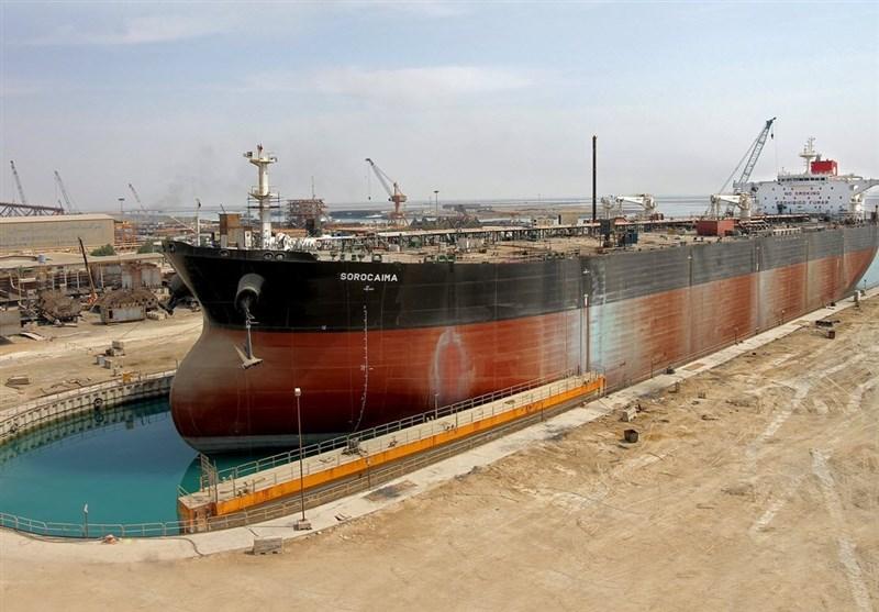 دومین کشتی افراماکس در جزیره صدرای بوشهر تکمیل میشود